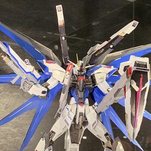 【展示プレビュー】 METAL BUILD フリーダムガンダム コンセプト2 ~ 2個目ゲット! 奇跡の店頭予約
