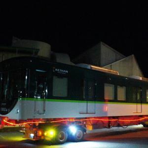 京阪陸送より「珍編成」の期待は外れた?GV-E400系甲種輸送