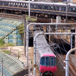 大江戸線12-801Fを送り出してからの週末はこうなる?