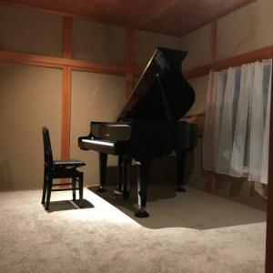 ピアノin和室♪