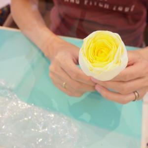 アレンジ法*お花とお花の間に隙間ができてしまった時
