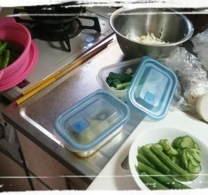 野菜くずの整理