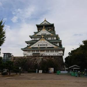 大阪城公園、謎の甲冑の人(^^)