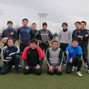 一月とは思えない暖かい中での練習。楽しかったですよ!