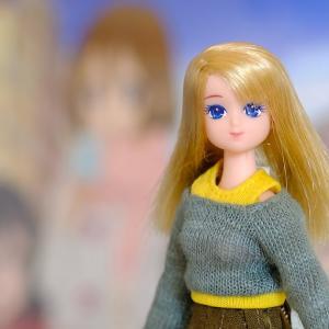 コンパクトドールにピコニーモの服 (2)