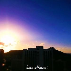 Hawaii☆最後のあさんぽだよ♡