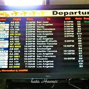 Hawaii☆HNL Departure♡
