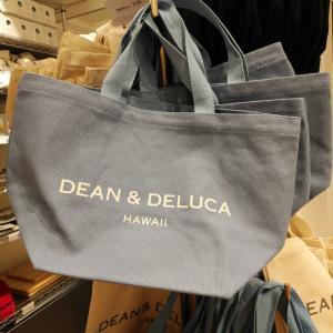 Hawaii☆DEAN&DELUCA新色ブルートート買えます♡