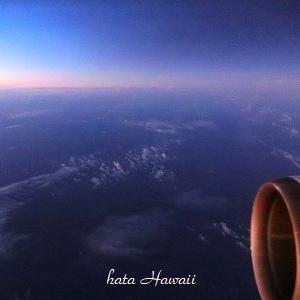 Hawaii☆飛行機から見た不思議な雲~着陸まで♡