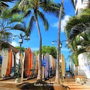 Hawaii☆サーフボードロッカーは今。