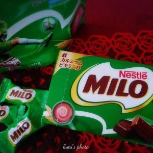 MILOのチョコだって♡