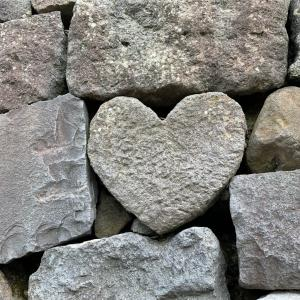 長崎ネタ)ハートの石は幸せを呼ぶ?