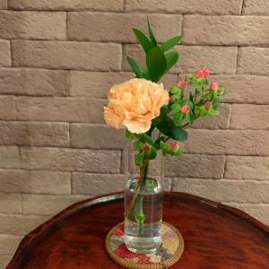 ポストにお花が届いた!