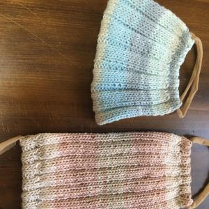 手編みマスクの編み図公開します。