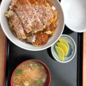検診日のランチ 竹田病院うめ食堂の煮込みカツ丼