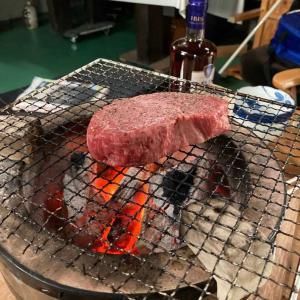 昨夜は、綾ちゃんからのお中元で南会津産高級牛肉
