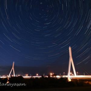 ペルセウス座流星群の夜