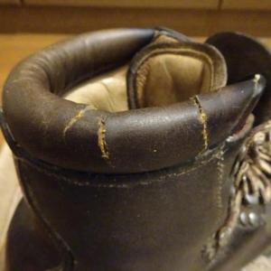 性懲りもなく登山靴