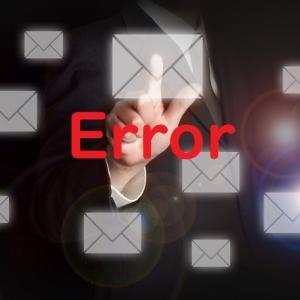 メールが届かず ご迷惑をおかけしております