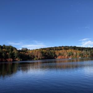 白駒池、初めての山小屋泊まり。