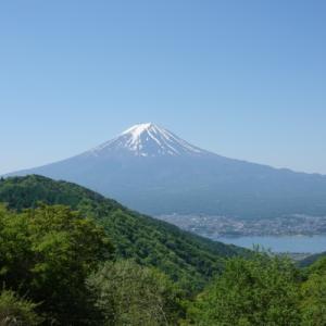 絶景の富士を見に、御坂黒岳へ。