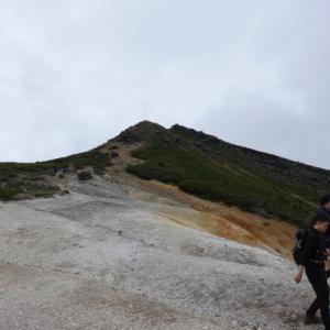 八ヶ岳で挫折(それも北)