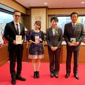 AKB48グループ総監督・向井地美音さん 法務省にて記者会見を行う。【AKB48G/SKE48/NMB48/HKT48/NGT48/STU48/チーム8】