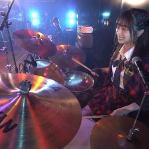【AKB48】Lacetドラム担当吉橋柚花ちゃん「ドラムは家にないし譜面が読めないので、動画を見て自分の体にリズムを刻み込み覚えた」←スゴくね???