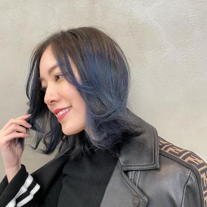 【SKE48】松井珠理奈が髪を青に染める「初めてのブルー」