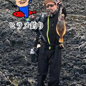 日本海ヒラメ釣り