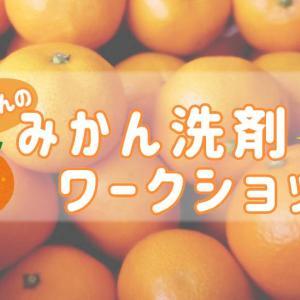 【1月23日開催】みかん洗剤ワークショップ開催のお知らせ