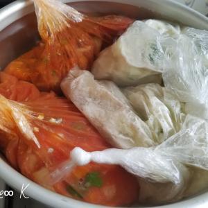 【北海道胆振東部地震】3⃣ 食料備蓄・パッククッキング