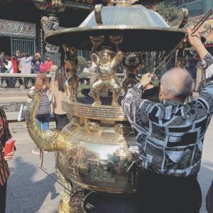 【台北】知っていましたか?艋舺龍山寺向かい側の公園は「龍山商場」であったことを