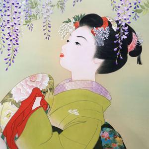 4月作品展の延期と新作美人画SHOP販売開始のお知らせ