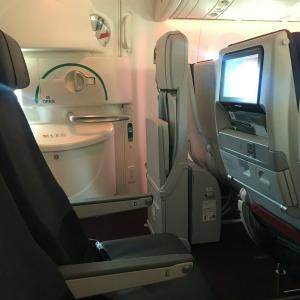 【JAL】新機材のシートは座り心地が悪いよ