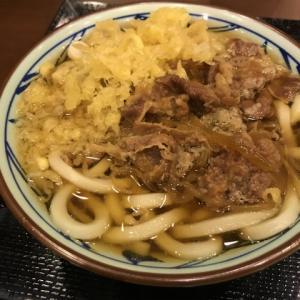 【出張のご飯】たぬき肉うどん