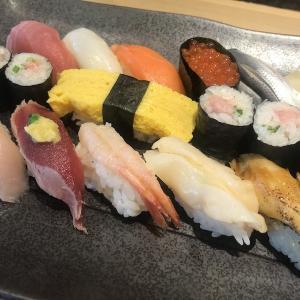 【休日のご飯】海鮮三崎丸のお寿司で満腹
