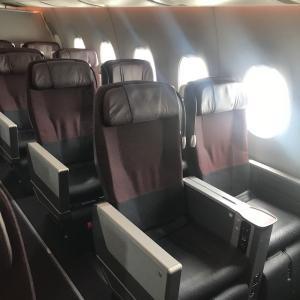 【JAL】A350-900の機材はなかなか良いね。