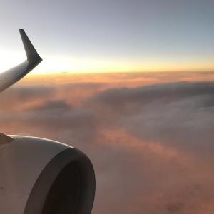 【旅行】雲上の夕暮れ