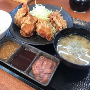 【休日のご飯】唐揚げ定食