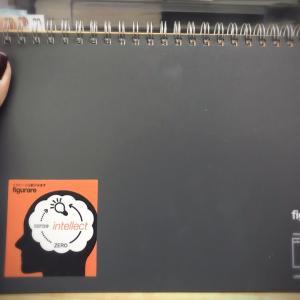 新しいノート=私の決意表明(笑)