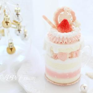 12月1day【sweet holiday♡乙女ちっくなキャンドルケーキ】