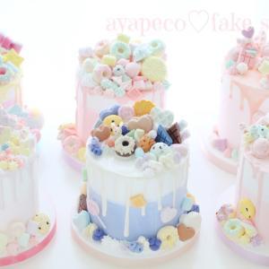 可愛いの破壊力が凄い!大阪11期の皆さまのドリップケーキ完成です♡