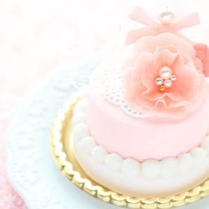 7月1day【little ladyのあこがれケーキ♡】