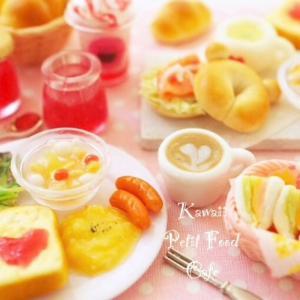 フェイクフードの楽しみ満喫♡可愛いプチフードCafeコース