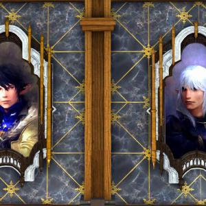 総長の肖像画と竜騎士の肖像画(調度品・壁掛)