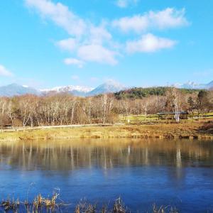 原村は美しく凍ってます