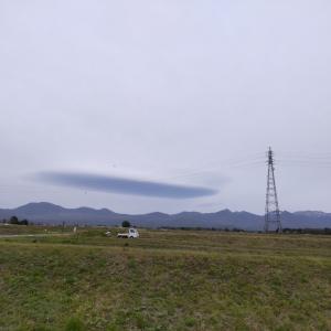 なんだ?変な雲だ!〜とマンホールカード