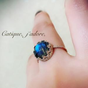 New☆Labradorite Ring