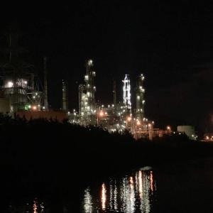 室蘭工場夜景、最後のJXTG